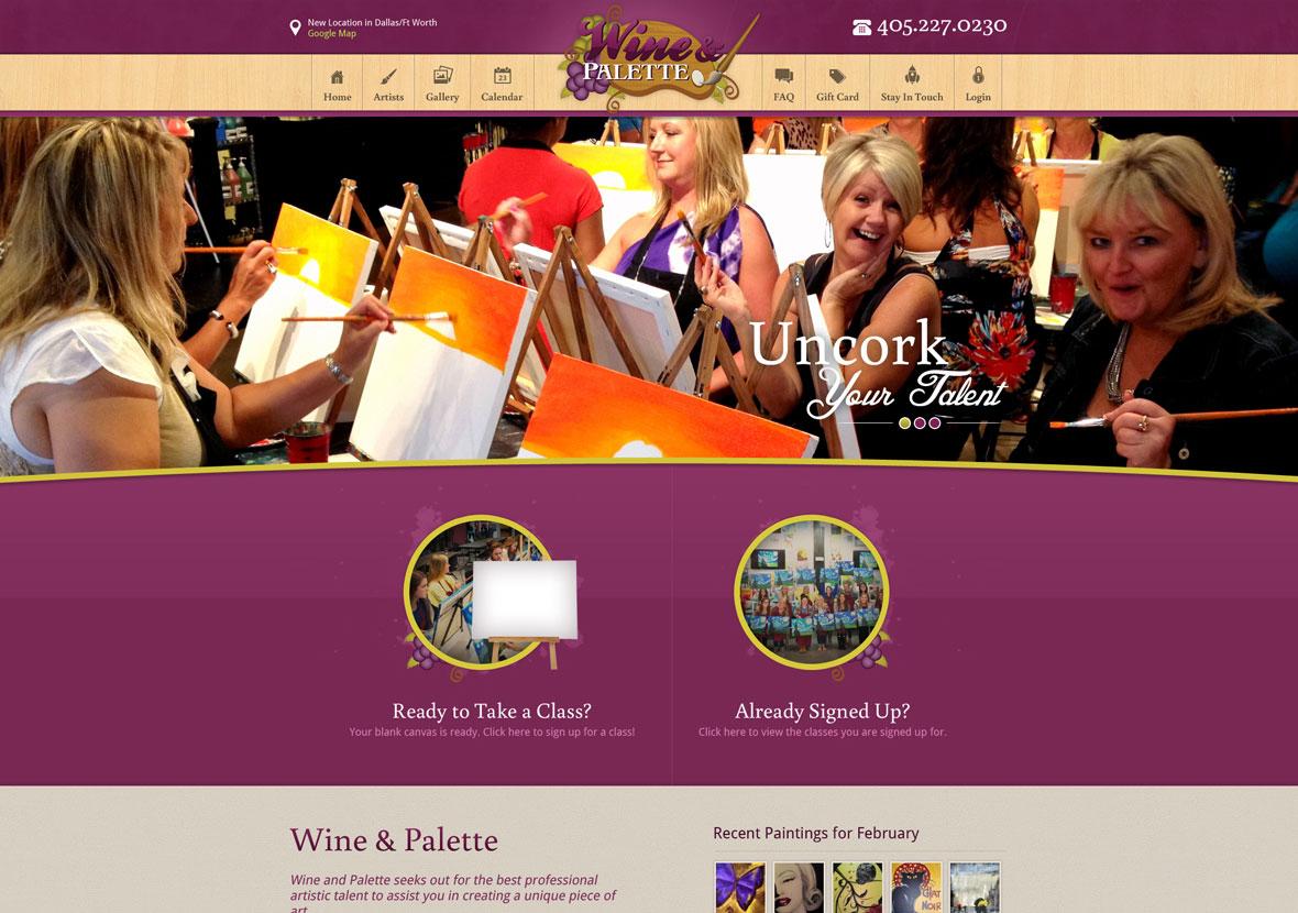 Wine & Palette Portfolio Image