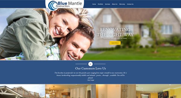 Blue Mantle Construction Portfolio Image