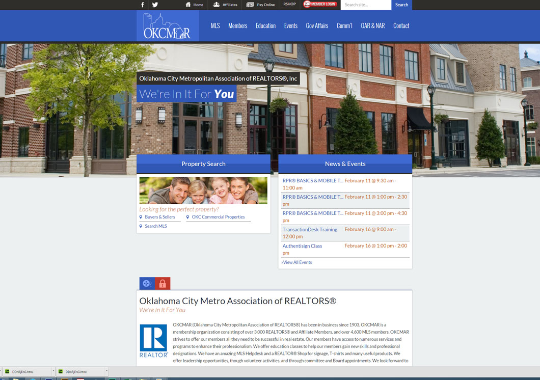 Oklahoma City Metro Area REALTORS® Association Portfolio Image
